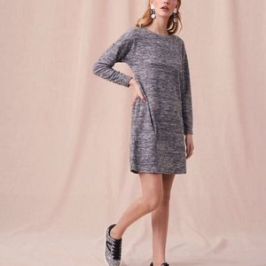 Ann Taylor Lou and Grey Marled Sweater Dress L NWT